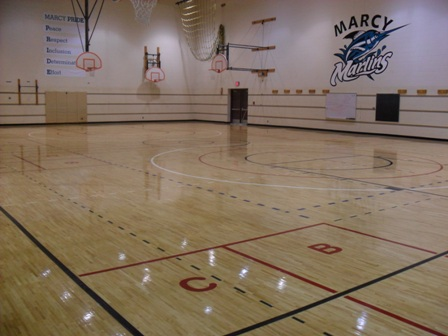 Aacer Long Bond Is Installed At Marcy Elementary